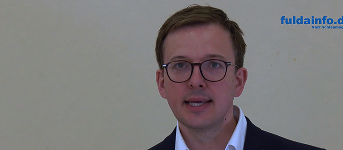 Kreisbeigeordneter Frederik Schmitt Im Gespräch