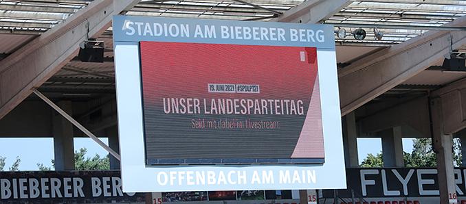 Landesvertreterversammlung der hessischen SPD in Offenbach am Main