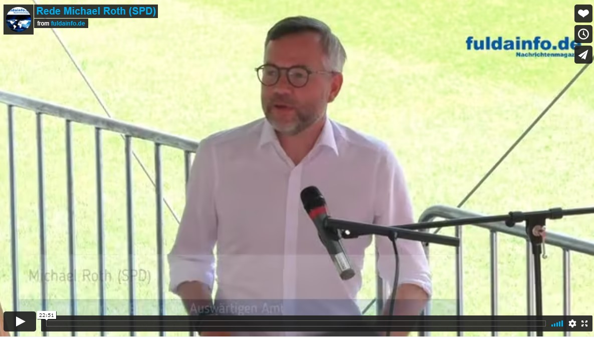 Rede Michael Roth (SPD) – Offenbach