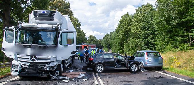 Tödlicher Unfall auf der B27