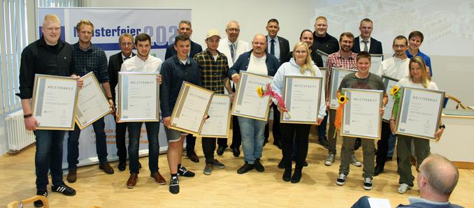 Meisterfeier an der Bad Wildunger Holzfachschule