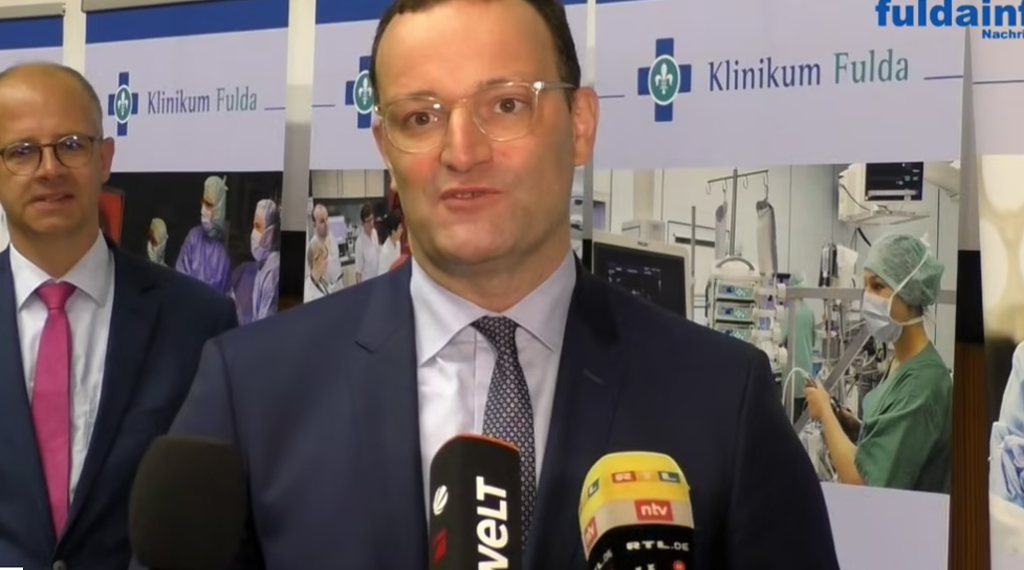 Jens Spahn im Klinikum Fulda