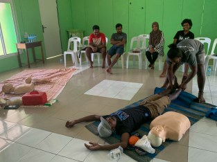 learning first aid maldives