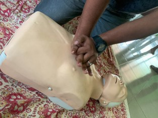 emergency first response course maldives