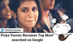 Priya Prakash Varrier becomes top most searched on Google