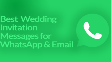Best Wedding Invitation Messages for WhatsApp & Email