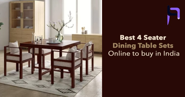 Cool Best 4 Seater Dining Table Sets Online To Buy In India Machost Co Dining Chair Design Ideas Machostcouk