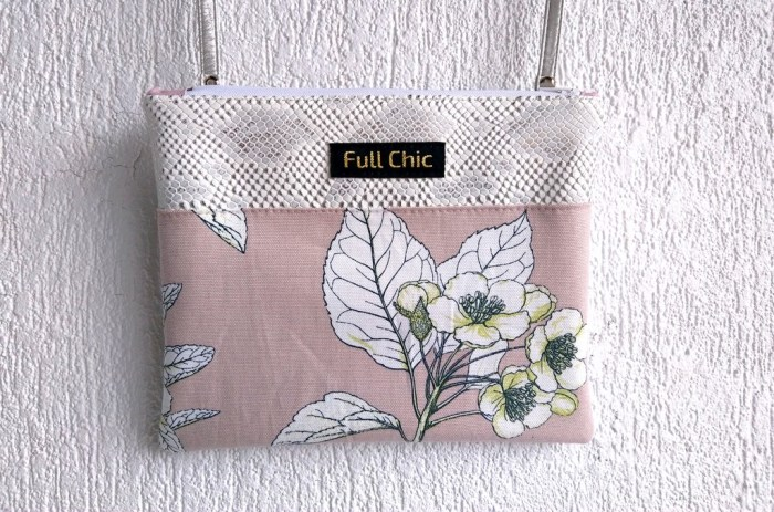 pochette fleurs cerisier