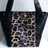 sac t noir leopard