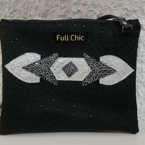 pochette bijoux argent