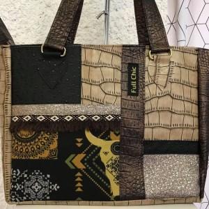 sac patch ethnique