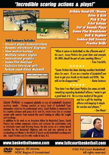 SECRETS OF INTERNATIONAL BASKETBALL by Lason Perkins back