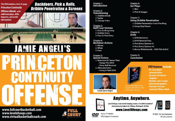 Princeton Continuity Offense with Coach Jamie Angeli