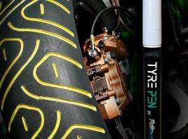 TYRE PEN Full Dip GIALLO