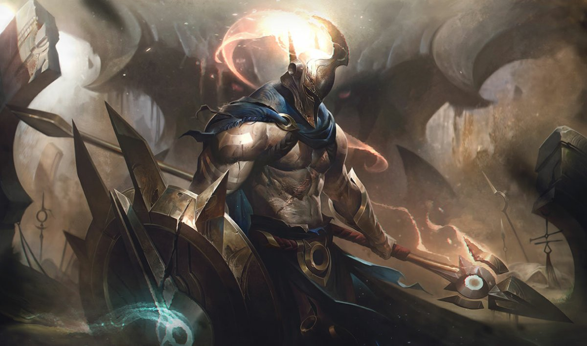 Splash Art del nuevo Pantheon