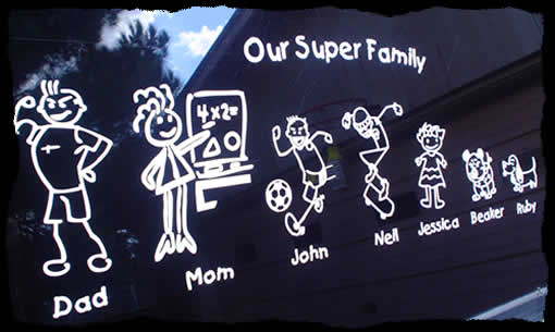 Image result for family stickers