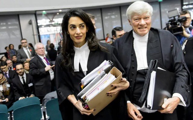 Amal Clooney networth and career