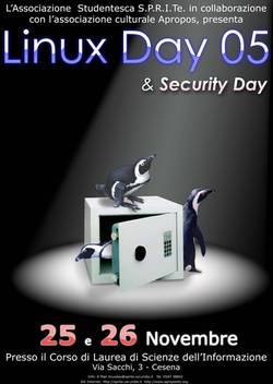 LinuxDay & Security Day 2005 a Cesena