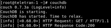 couchdb, database per documenti