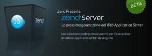arriva lo zend server