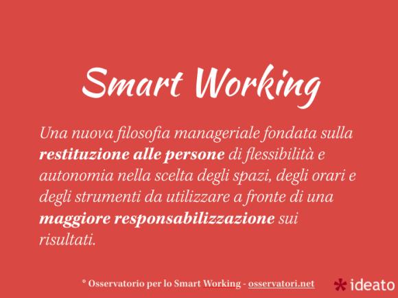 Smart Working, definizione
