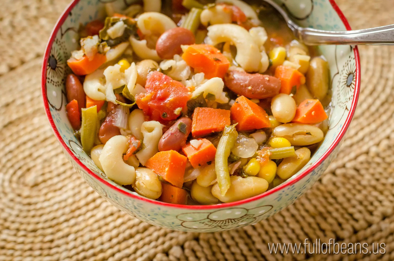Minestrone Soup: Vegan Soup Comfort Food