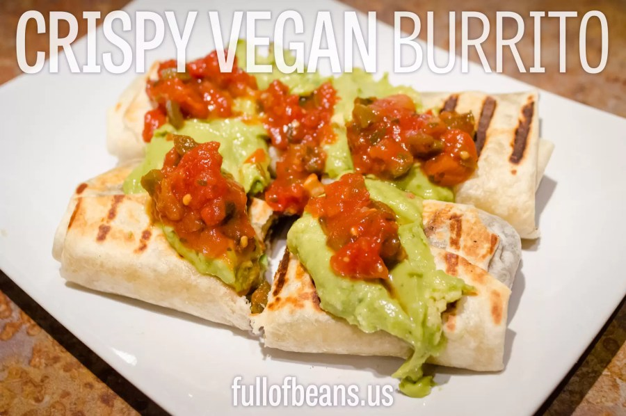Vegan Burritos from Full of Beans