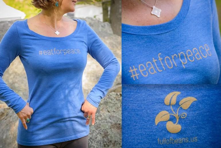 #eatforpeace t-shirt