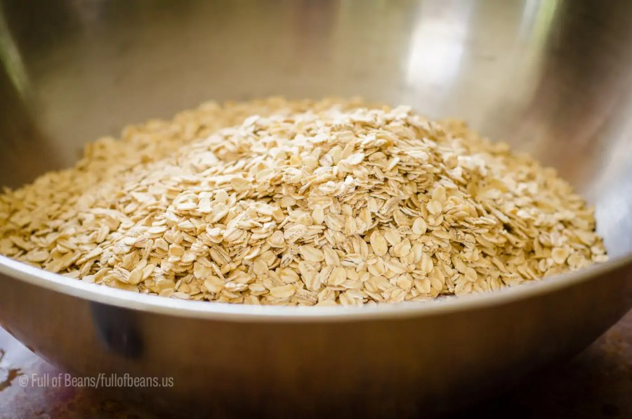 Big bowl of oats