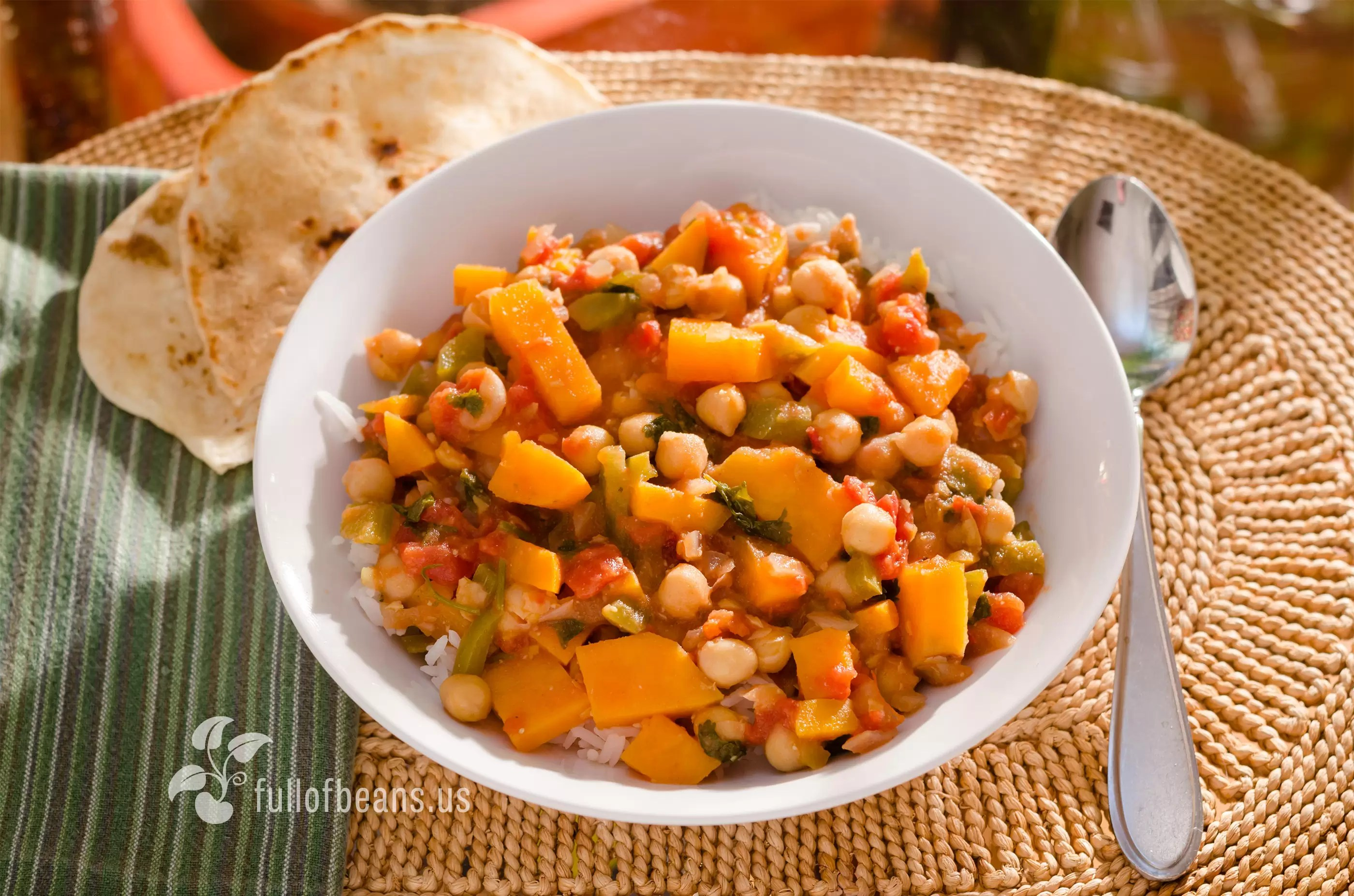 Chickpea Sweet Potato Stew