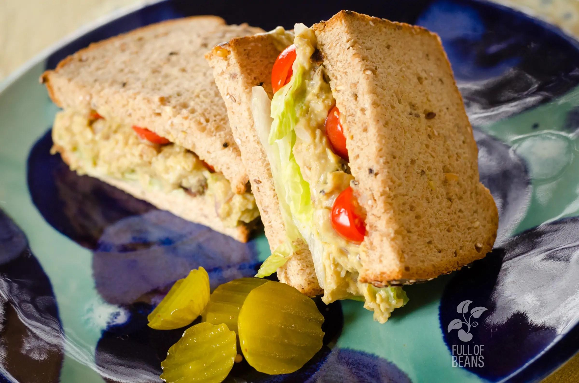 Vegan Curried Chick'n Salad