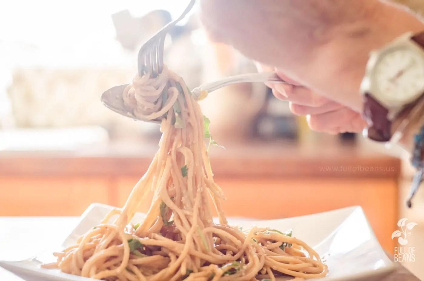 Spicy Sesame Noodles - Dig In!
