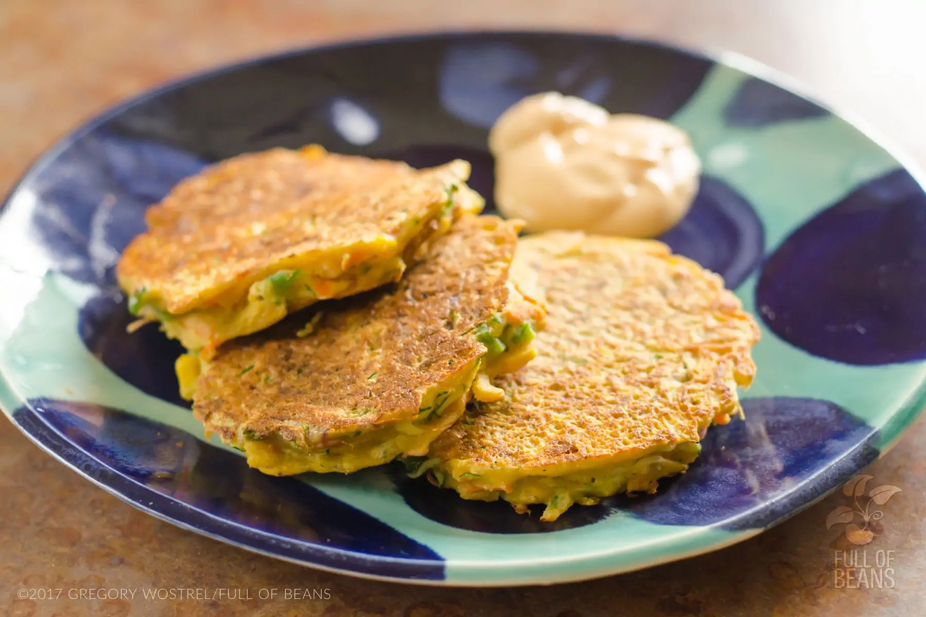 Vegan Gluten Free Fritters Features