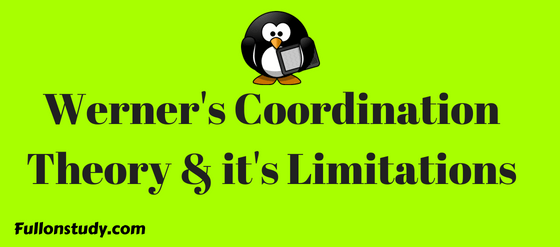 Werners Coordination Theory and it's Limitations