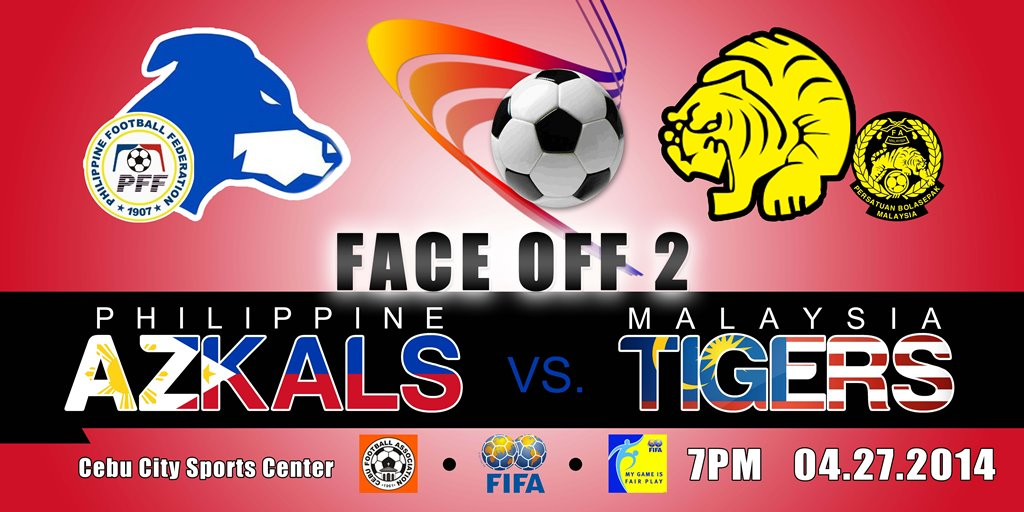 FACE OFF 2: Philippine Azkals battle Malaysia Tigers in Cebu