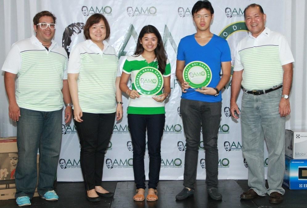 Ericka Lim, Clifford Yap rule 7th Amo Cup golfest