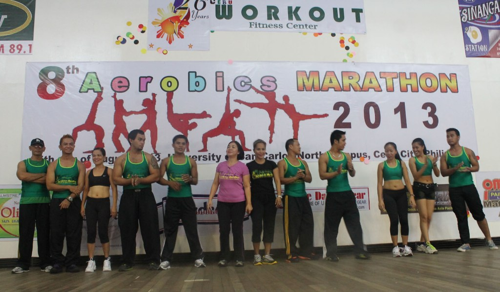 Workout Fitness Center sets aerobics marathon
