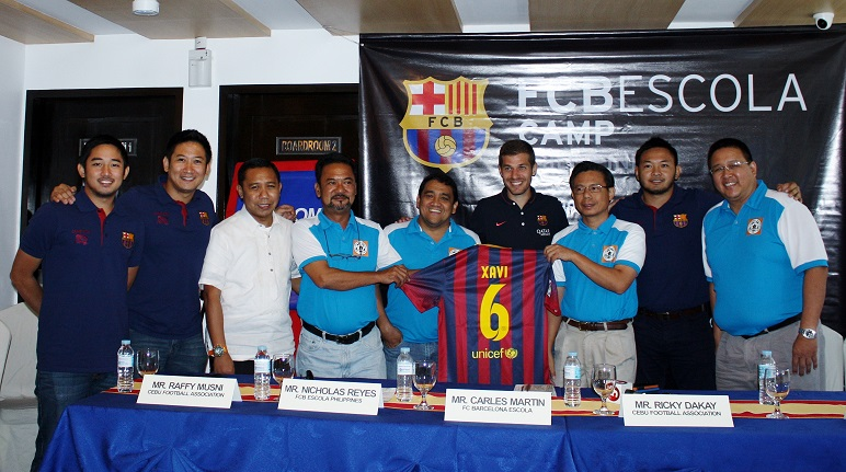 Cebuanos Get Chance to Learn Football the FC Barcelona Way