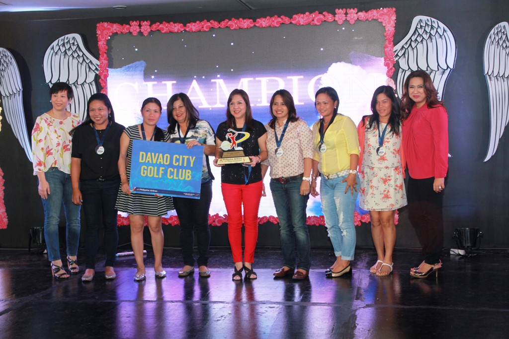 Davao City Golf Club was the runaway champion of the Friendship Division.
