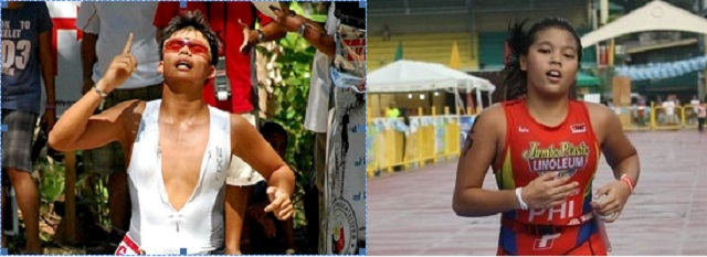 Justin Liam Chiongbian and Aaliyah Ricci Mataragnon clinched the Elite male and female title of the first Cebu City Triathlon.