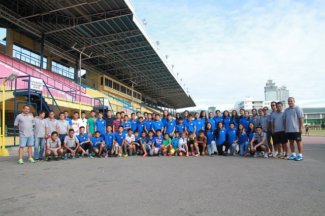 The Cebu Football Association Elite teams with their coaching staff and CFA officials. (Contributed Photo)