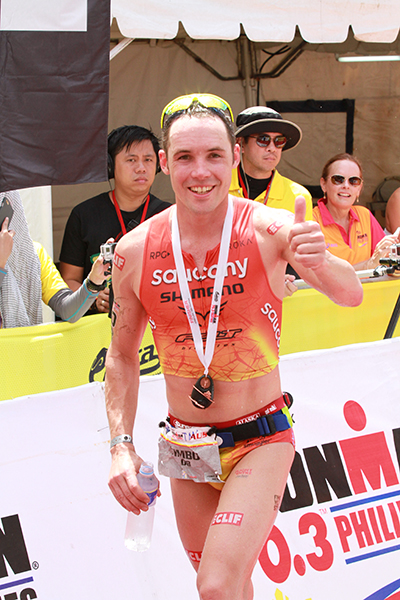 Tim Reed of Australia won the race.