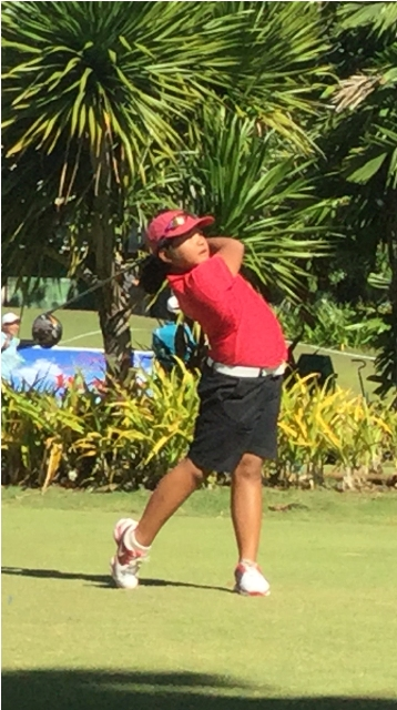 Despite her loss, 8-year-old Grace Pauline Quintanilla could be the next big thing for Phl golf.
