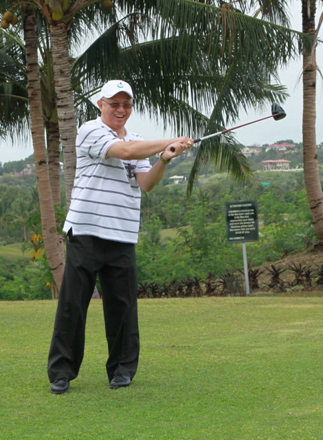 Cebu Archbishop Jose Palma will once again hit the ceremonial drive for the Shepherd's Cup, which will be hosted by Cebu Country Club this year.
