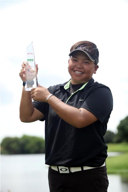 Chihiro Ikeda: Champ at last