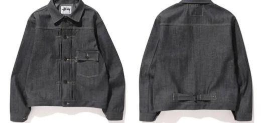STUSSY × WINDSTOPPER デニムジャケット
