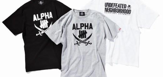 アンディフィーテッド (UNDEFEATED) × ネイバーフッド (NEIGHBORHOOD)とのコラボ、「ALPHA DOGS」が発売!