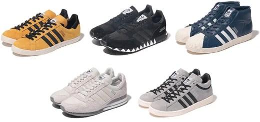 ネイバーフッド (NEIGHBORHOOD) × アディダス オリジナル (adidas Originals)、ボストン スーパーなどが発売!