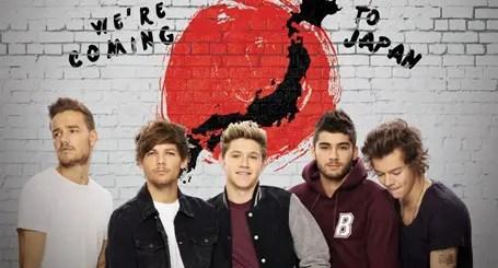 ワンダイレクション (One Direction)、今日から日本ツアーがスタート!