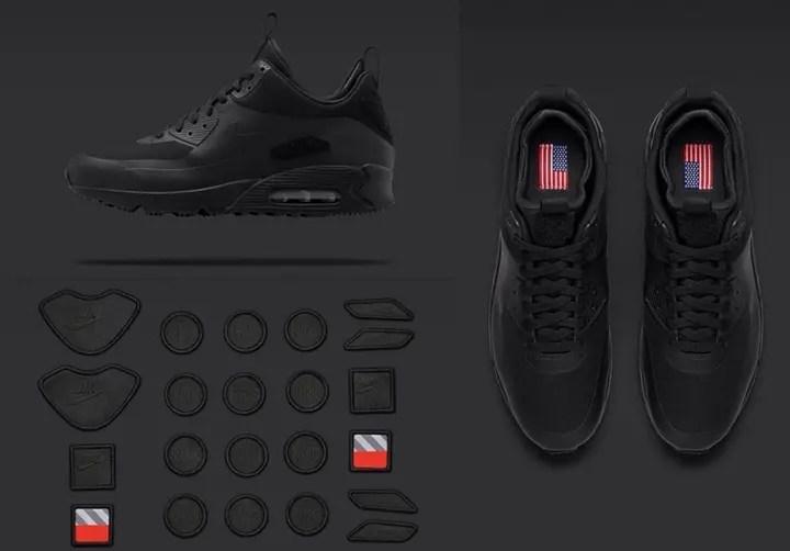 ナイキラボ (NIKE LAB) エア マックス 1 パッチ スニーカーブート (AIR MAX 1 Patch Sneakerboot)